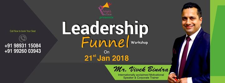 Leadership Funnel Raipur by Vivek Bindra