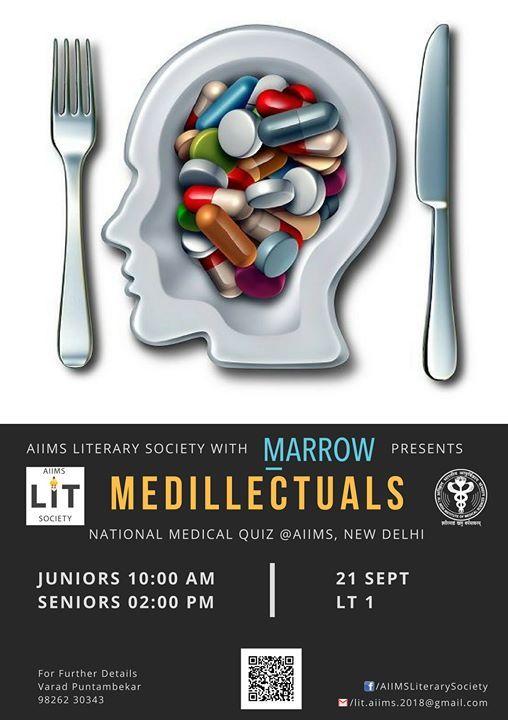 Medillectuals, National Medical Quiz at AIIMS , NewDelhi