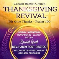 Youre Invited Community Thanksgiving Revival Choir