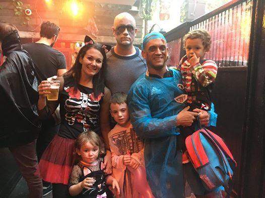 BFLF Vauxhall Family Rave Halloween Spooktacular 27 Oct