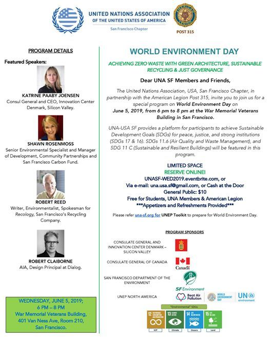 World Environment Day at United Nations Association (UNA) San