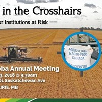 NFU-Manitoba AGM 2018 - Farmers in the Crosshairs