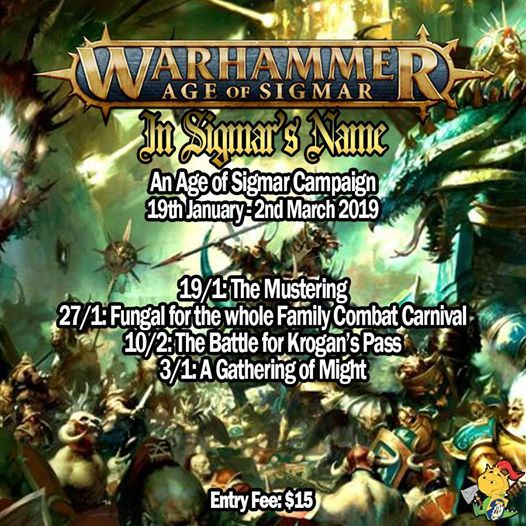 In Sigmars Name - Warhammer Age of Sigmar Campaign