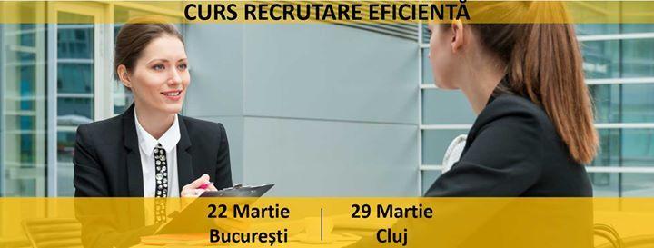 Curs Recrutare Soluii Avansate de Sourcing Candidai Bucureti