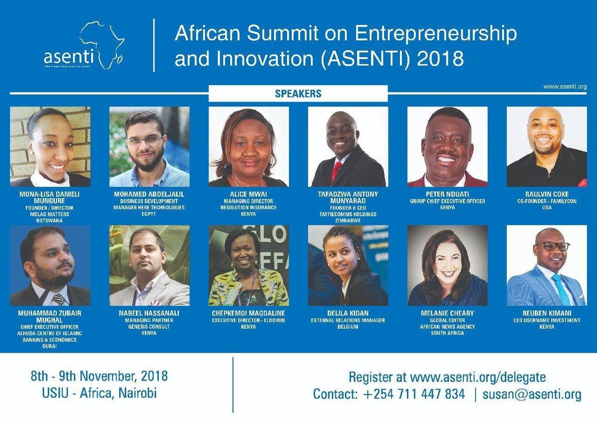 ASENTI SUMMIT 2018 NAIROBI KENYA