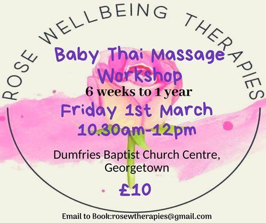 Baby Thai Massage Workshop