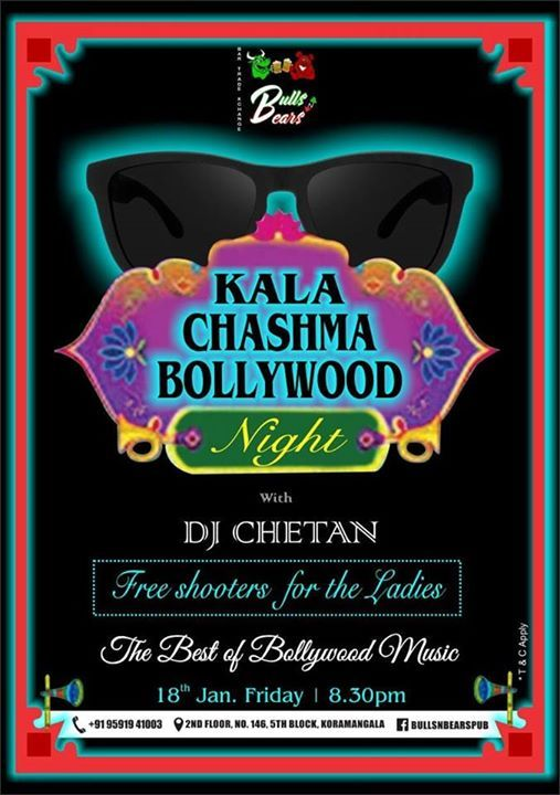 Kala Chasma Bollywood Night