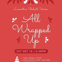 The LSU presents All Wrapped Up a Holiday Party