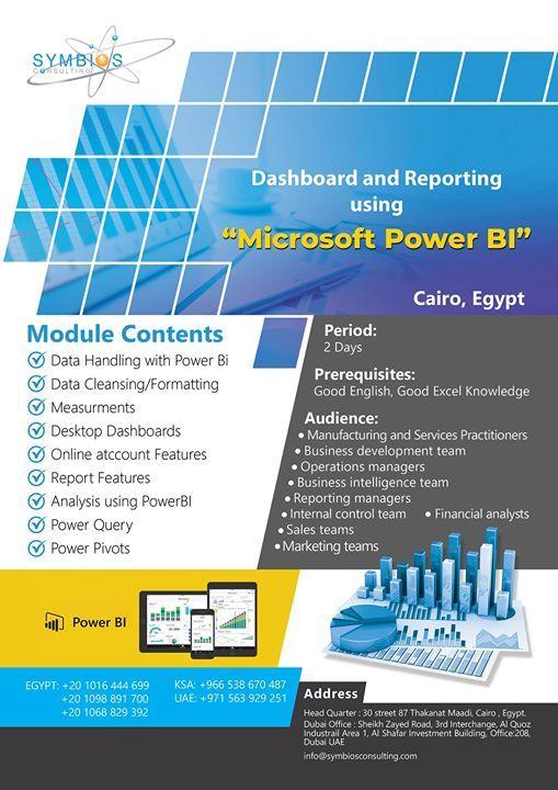 Dashboard and Reporting using Microsoft Power BI