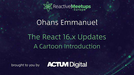 ReactiveMeetup Prague  Ohans Emmanuel