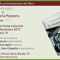 Presentazione libro -Il Passaggio- di Annamaria Panzera
