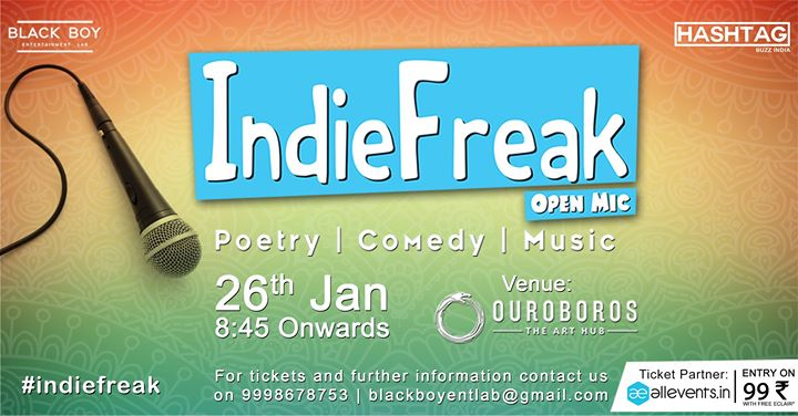 IndieFreak Open Mic 0.0.6