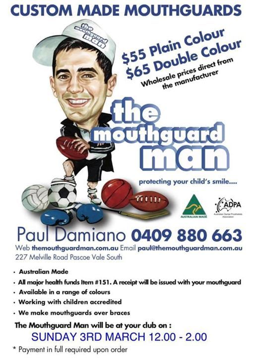 Mouthguard man