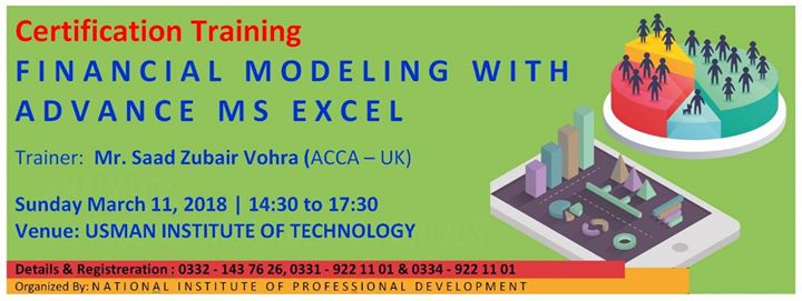 certificate training on financial modeling with advance excel at ...