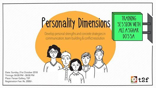 Personality Dimensions Training Session with Ali Asghar Dossa
