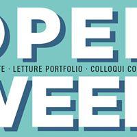 Open week dal 25 al 28 settembre a Officine Fotografiche Roma