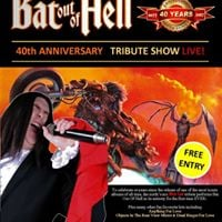 Bat out of Hell 40th Tribute Show LIVE Dead Ringer for Loaf