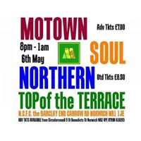 Motown Soul Northern at TOP of the Terrace NCFC
