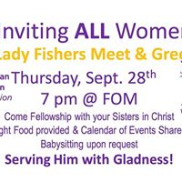 Lady Fishers Meet &amp Greet