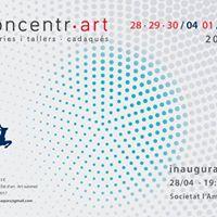 Concentrart 2017 mostra de Galeries i Tallers de Cadaqus.