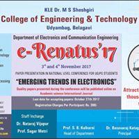 E-Renatus17 &quotEmerging Trends In Electronics&quot