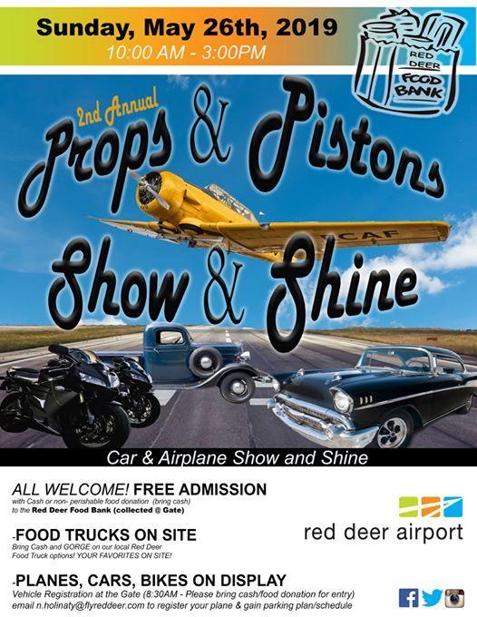 Props & Pistons Show & Shine
