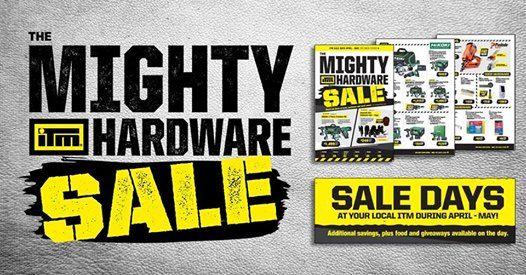 The Mighty ITM Hardware Sale - McVicar ITM