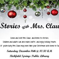 Stories with Mrs. Claus