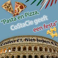 MFVN CoSta-feest Pasta en Pizza CoStaCie geeft een festa