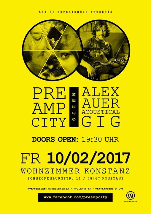 Preampcity Meets Alex Auer At Wohnzimmer Konstanz