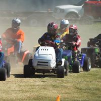 Wisconsin Lawnmower Racing Association at Baraboo WI