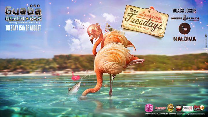 Tuesday 13th September - Guaba Locorico Tuesday Hosted by   DJ GUABA JORDI   Sexy R&BDancehallReggaetonLatin & Afrobeats