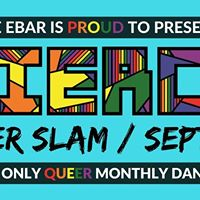 Fierce Queer Slam  Sept. 30
