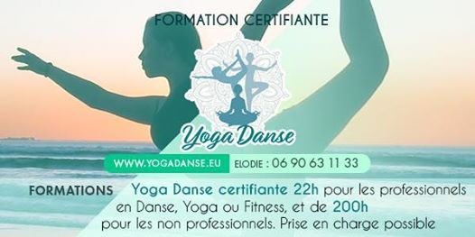 Formation Yoga Danse 22h00 Bordeaux