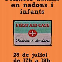 Primers Auxilis en nadons i infants