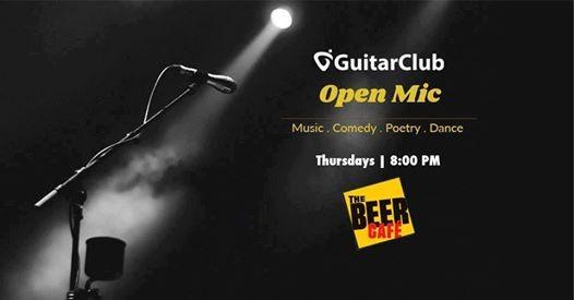 GuitarClub Open Mic