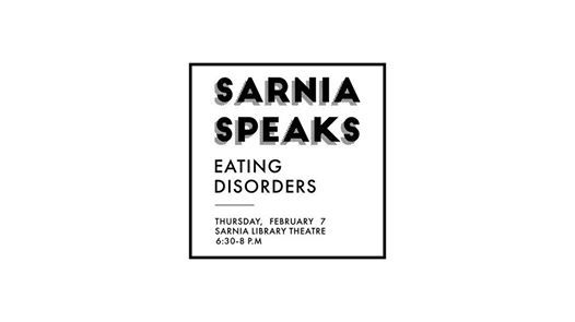 Sarnia Speaks Eating Disorders