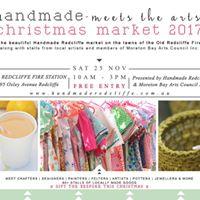 Handmade Redcliffe Christmas Market  Handmade meets the Arts