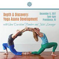 Depth &amp Discovery Yoga Asana Development