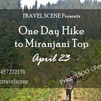 One Day Travel Scene at Miranjani Top