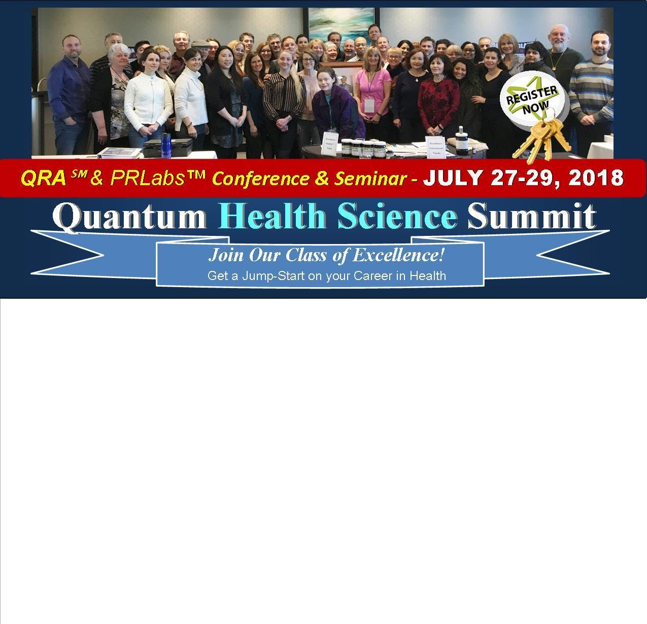 Quantum Health Science Summit Central Ontario