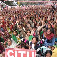 Scheme Workers All India Strike