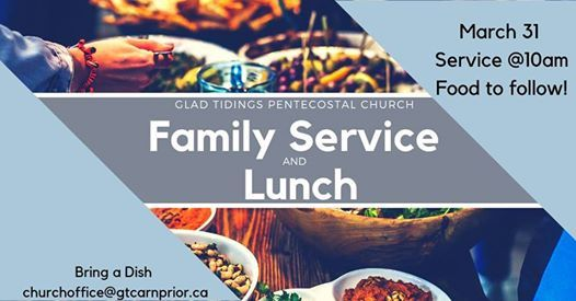 Family Service and Lunch