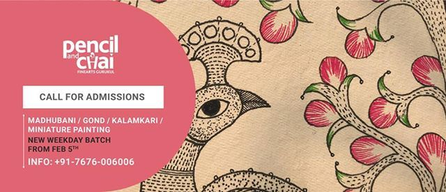 Admissions Open 3-Months Certified FOLK ART Courses