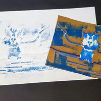 Kids Workshop Printmaking Story Telling Fun