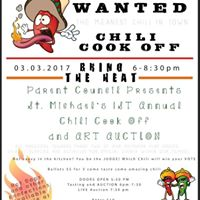1st Annual Chili Cook-off and Art Auction