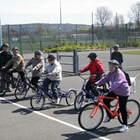 Cycling Sight Loss Opportunities Group monthly meeting