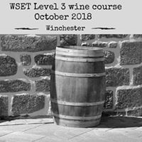 WSET Level 3 Award in Wines - October 2018