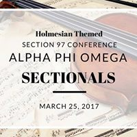 Alpha Phi Omega Section 97 Conference