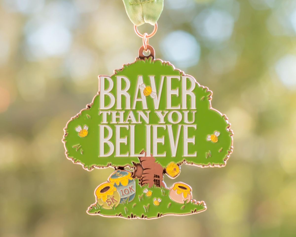 2019 Braver Than You Believe 5K & 10K in honor of National Winnie the Pooh Day - Newark